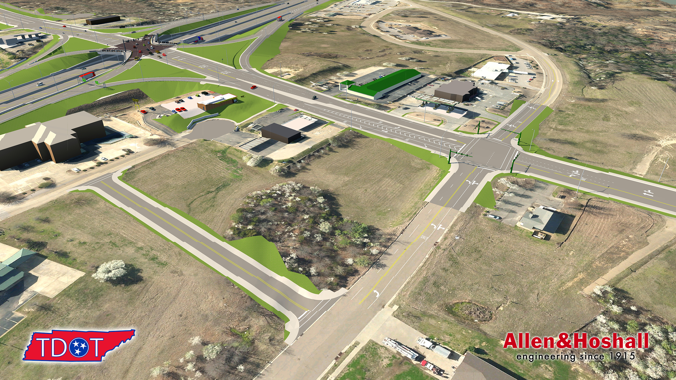 Canada Road Interchange Construction Begins   The View 38002