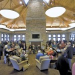 """The """"Town Hall"""" at Pell City, Alabama Veterans Home. Photo courtesy of West Tennessee Veterans Home, Inc."""